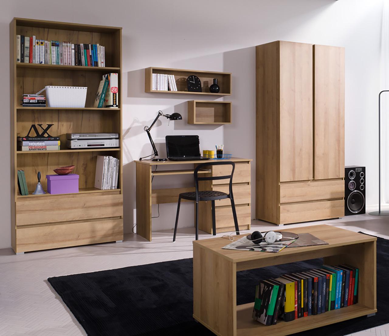 1e191190ef3d4 Študentské steny a zostavy : Moderná študentská izba COSMO 3