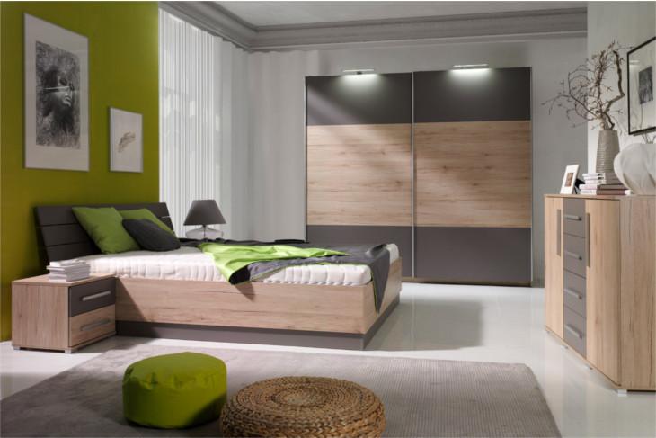fd93084351fb Spálne (zostavy a sektový nábytok)   Moderná a lacná spálňa DIONE 1
