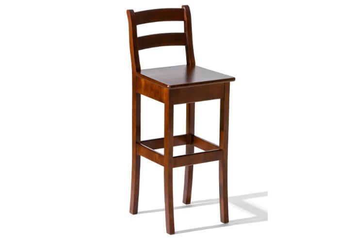 264b30b2310da Hokery drevené : Barová stolička H-8 drevené sedadlo