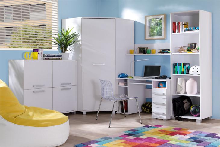 ce5cdddabcd15 Moderná detská / študentská izba MAXIMUS Zostava 27. Systémový nábytok  MAXIMUS Zostava č. 27