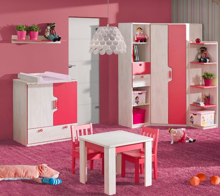2c5c9b0b519c Moderná detská izba NUKI Zostava 10. Moderní dětský pokoj NUKI Sestava č. 10