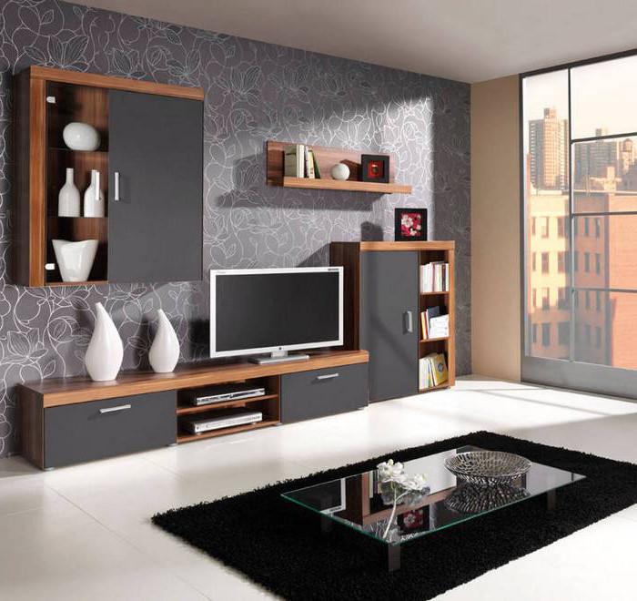 9b7ae0e0cbdf Nábytok SAMBA   Moderná obývacia izba SAMBA zostava 1 Slivka   Grafit