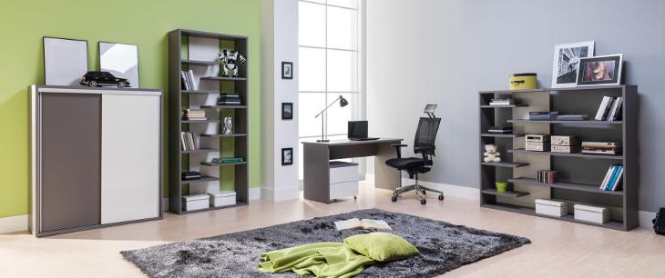 ea28d58402c02 Moderná študentská izba ZONDA zostava 7. Systémový nábytok ZONDA Zostava č.  7